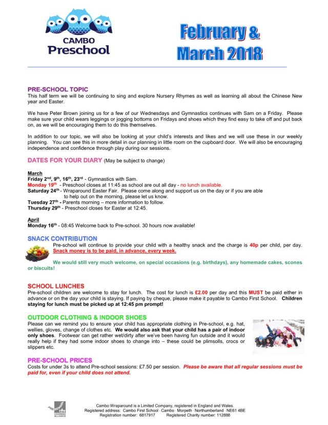 thumbnail of Newsletter Feb & March 2018
