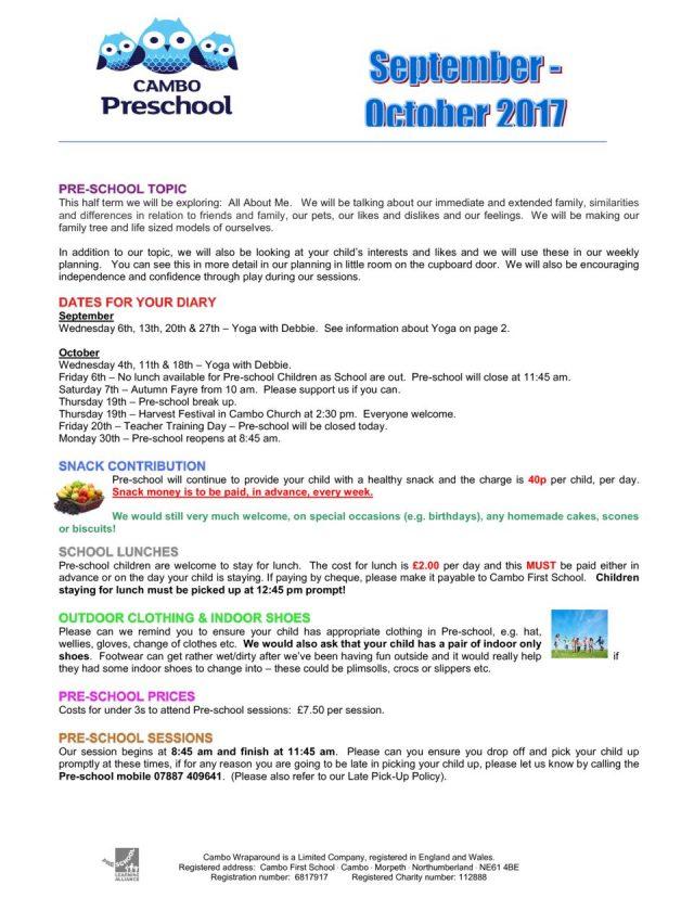 thumbnail of Pre-school Newsletter Sept – Oct 2017